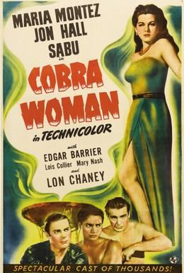 Постер фильма Женщина-кобра (1944)