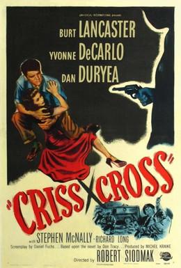 Постер фильма Крест – накрест (1949)