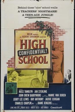 Постер фильма Тайна средней школы (1958)
