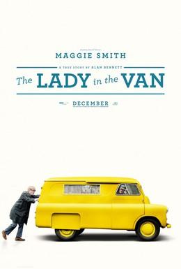 Постер фильма Леди в фургоне (2015)