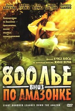 Постер фильма 800 лье вниз по Амазонке (1993)