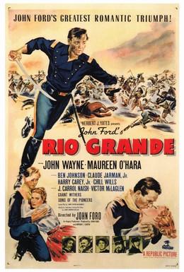 Постер фильма Рио Гранде (1950)