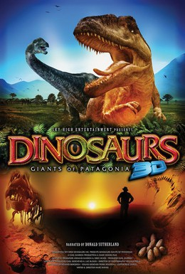 Постер фильма Динозавры Патагонии 3D (2007)