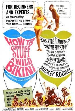 Постер фильма Как справиться с диким бикини (1965)