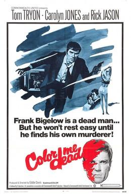 Постер фильма Цвет моей смерти (1969)