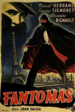 Постер фильма Фантомас (1947)