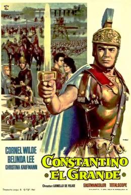 Постер фильма Константин Великий (1961)