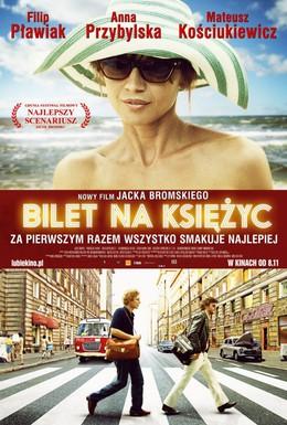 Постер фильма Билет в один конец на Луну (2013)
