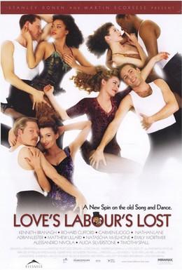 Постер фильма Тщетные усилия любви (2000)