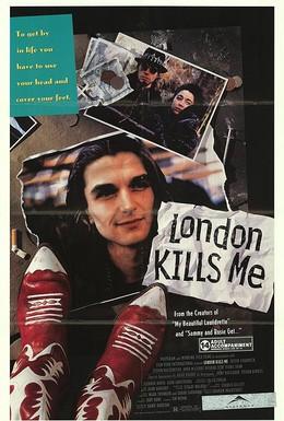 Постер фильма Лондон убивает меня (1991)