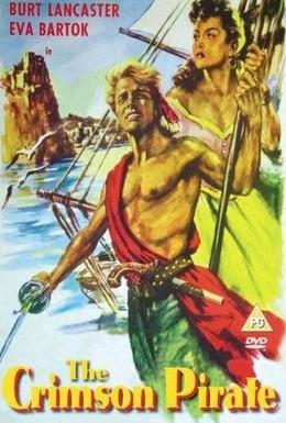 Постер фильма Красный корсар (1952)