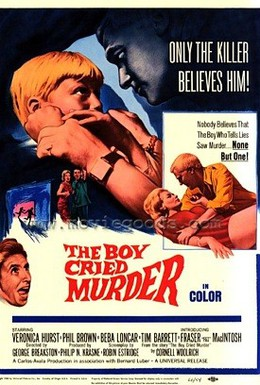 Постер фильма Мальчик, который кричал: Убийство! (1966)