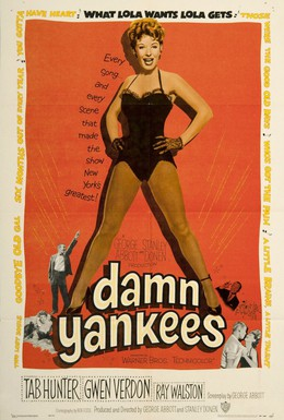 Постер фильма Чертовы янки (1958)