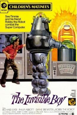 Постер фильма Невидимый мальчик (1957)
