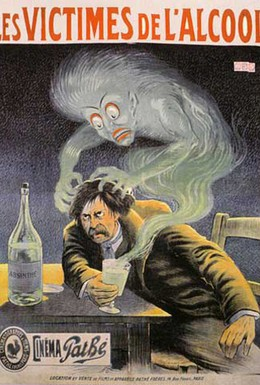 Постер фильма Жертва алкоголя (1902)