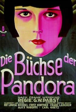 Постер фильма Ящик Пандоры (1929)