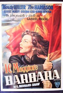 Постер фильма Майор Барбара (1941)