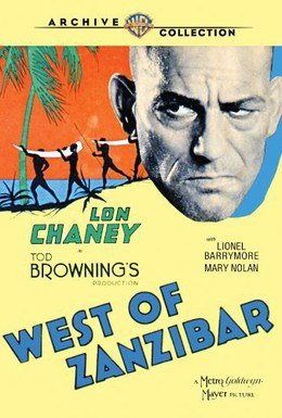 Постер фильма Запад Занзибара (1928)