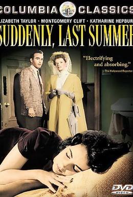 Постер фильма Внезапно, прошлым летом (1959)