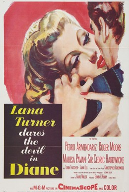 Постер фильма Диана (1956)