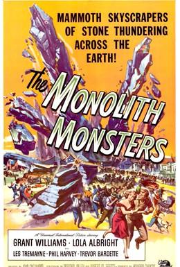 Постер фильма Монстры-монолиты (1957)