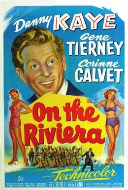 Постер фильма На Ривьере (1951)