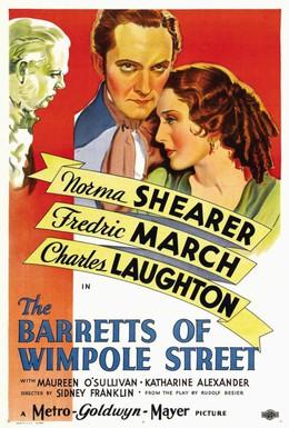 Постер фильма Барреты с Уимпол-стрит (1934)
