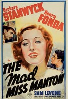 Сумасшедшая мисс Ментон (1938)