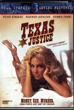 Постер фильма Правосудие по-техасски (1995)