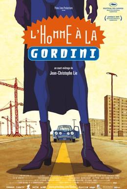 Постер фильма Человек в голубом Гордини (2009)