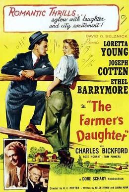 Постер фильма Дочь фермера (1947)