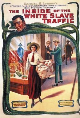 Постер фильма Изнанка торговли белыми рабынями (1913)