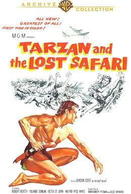 Постер фильма Тарзан и неудачное сафари (1957)
