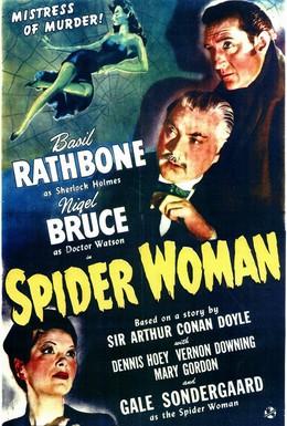 Постер фильма Паучиха (1943)