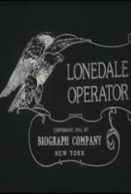 Постер фильма Телеграфистка из Лоундэйла (1911)