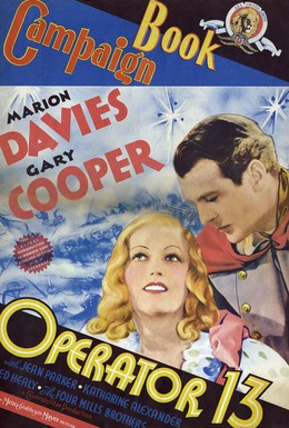 Постер фильма Оператор 13 (1934)