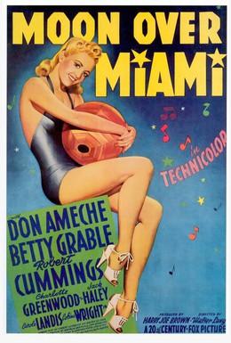 Постер фильма Луна над Майами (1941)