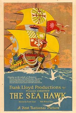 Постер фильма Морской ястреб (1924)