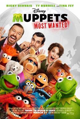 Постер фильма Маппеты 2 (2014)