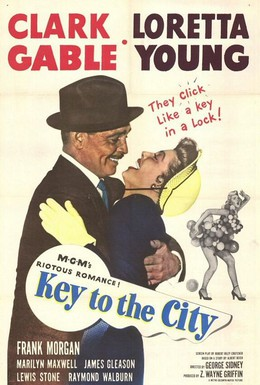 Постер фильма Ключ от города (1950)