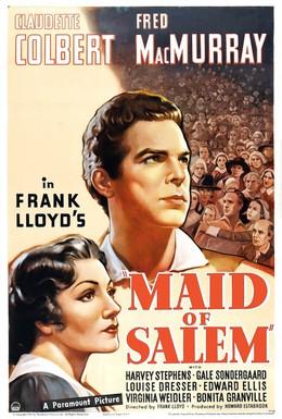 Постер фильма Девушка Салема (1937)