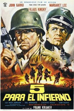 Постер фильма Пятеро из ада (1969)