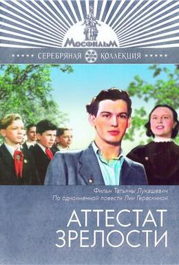 Постер фильма Аттестат зрелости (1954)