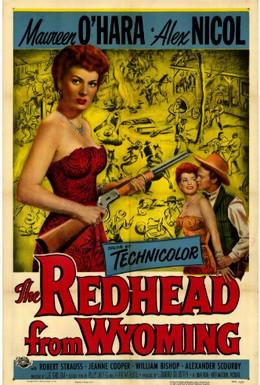 Постер фильма Рыжая из Вайоминга (1953)
