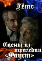 Гёте. Сцены из трагедии Фауст (1984)