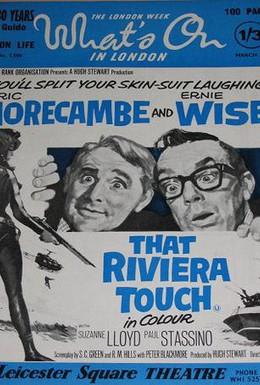 Постер фильма Отпуск на Ривьере (1966)