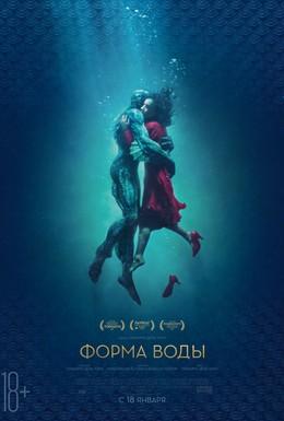 Постер фильма Форма воды (2017)