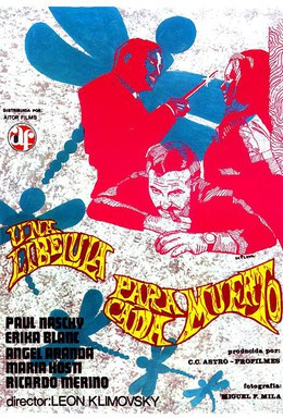 Постер фильма Стрекоза на каждом трупе (1975)