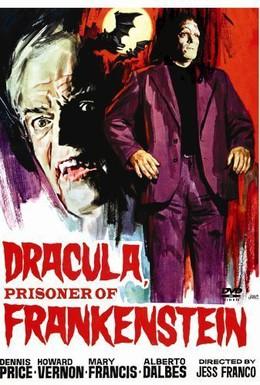 Постер фильма Дракула против Франкенштейна (1972)