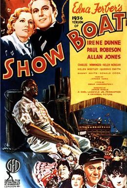 Постер фильма Плавучий театр (1936)